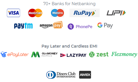 cashfree payment options